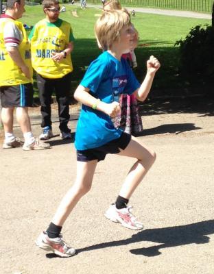 MS Junior Manchester run 2014