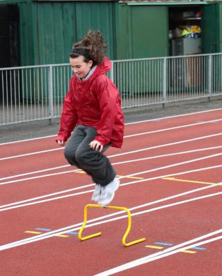 AB standing long jump