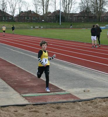 Cheshire League R1 2013 - U11B Long Jump