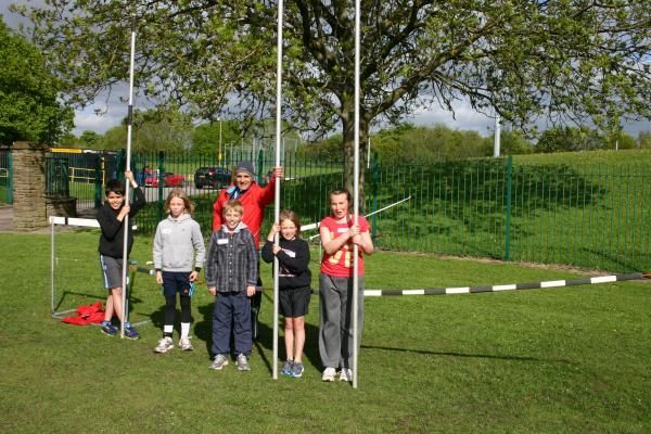 The Pole Vault senior group