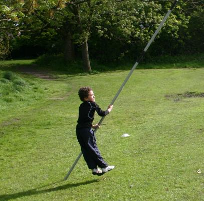 Pole Vaulting in the Park