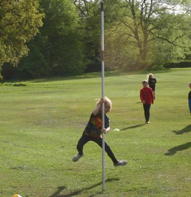 The youngest Pole Vaulter