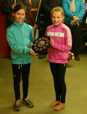 Lauren U11 Track & Field Champion