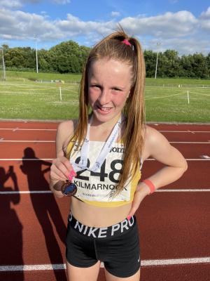 LJ Bronze medal Scottish CE 2021