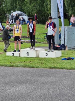 Rhys Watson Bronze medal Javelin - Northerns 2021